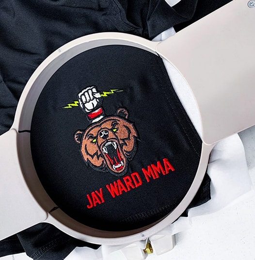 MMA Embroidery Shorts