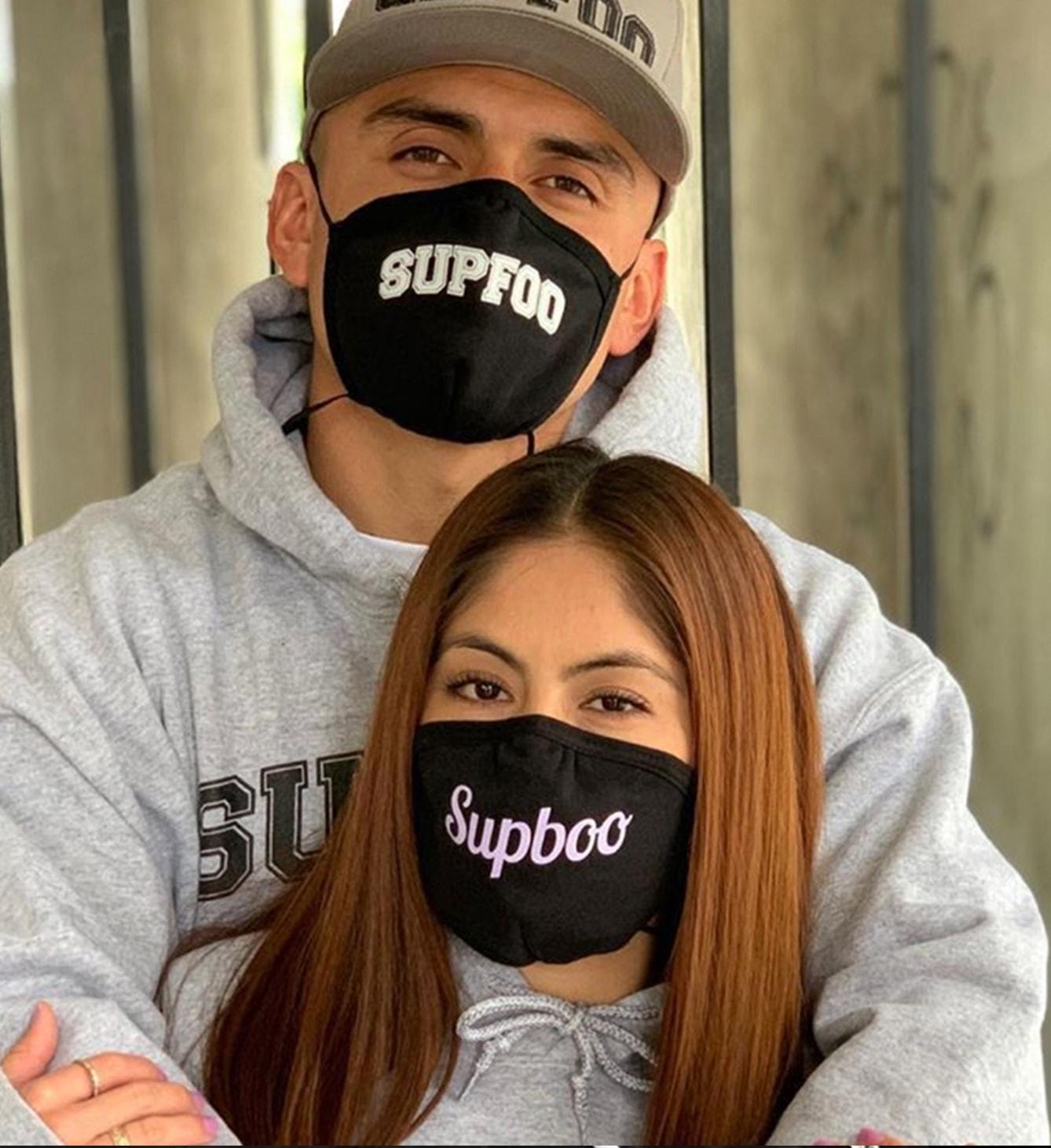 Custom Face Masks for clothing brand